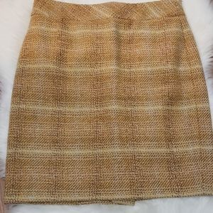 J Crew The Pencil skirt in tweed
